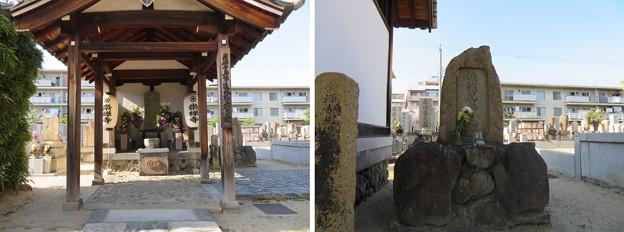 崇禅寺(大阪市東淀川区)遠城兄弟供養塔