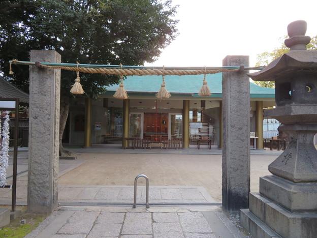 上杉景勝陣跡/八劔神社(城東区)