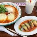 Photos: 地中海のトマトスープ麺 トマトの花 イオンレイクタウンkaze店(埼玉県越谷市)