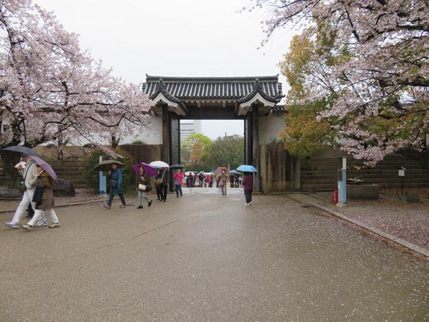大坂城(大阪府大阪市中央区)桜門桝形