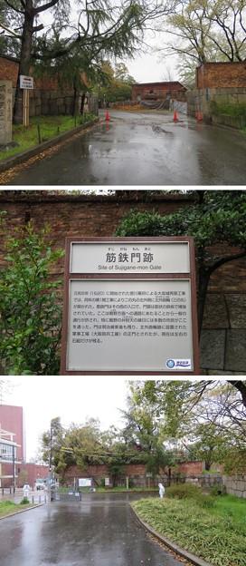 大坂城(大阪府大阪市中央区)筋金門跡