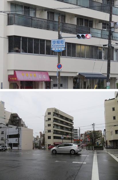 真田丸北西空堀推定地(大阪市天王寺区)