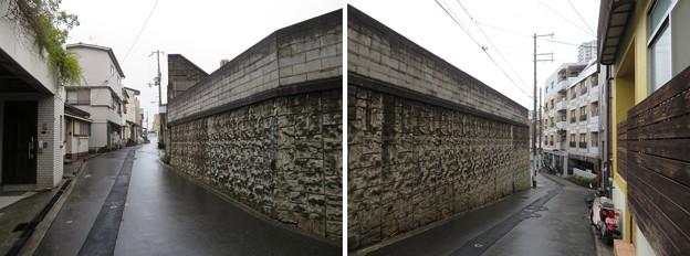 Photos: 真田丸北東空堀推定地(大阪市天王寺区)