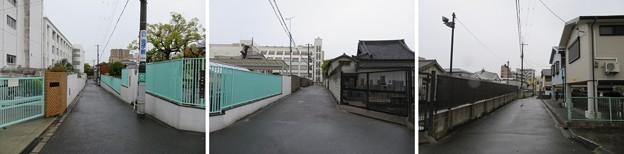 真田丸東側空堀推定地(大阪市天王寺区)