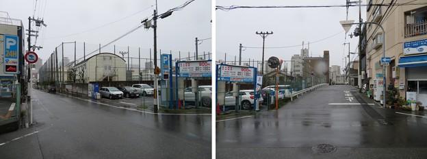 真田丸南側空堀推定地(大阪市天王寺区)