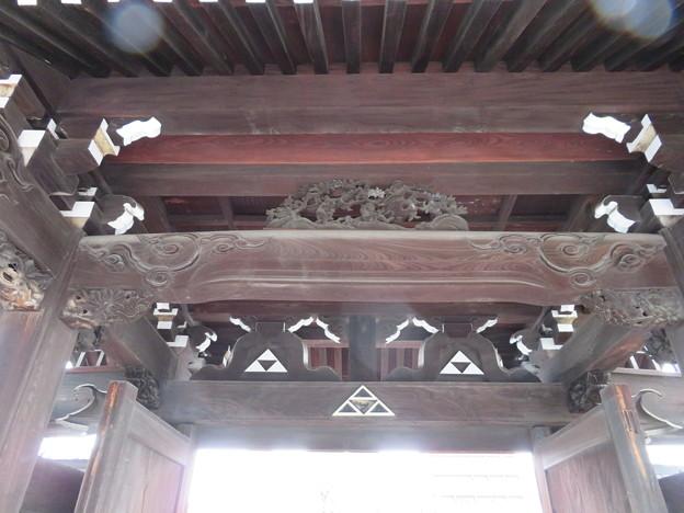 専念寺(大阪市中央区)山門