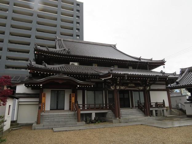 専念寺(大阪市中央区)本堂
