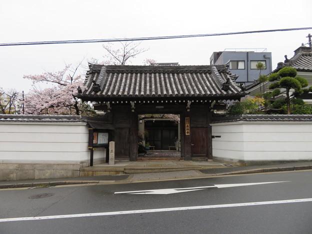 正法寺(大阪市中央区)ハリー・パークス宿泊の地