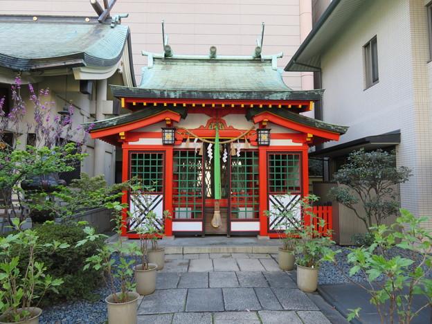坐摩神社(いかすり。大阪市中央区)稲荷社