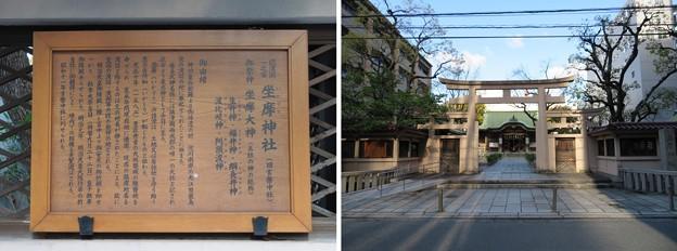 坐摩神社(いかすり。大阪市中央区)三ツ鳥居