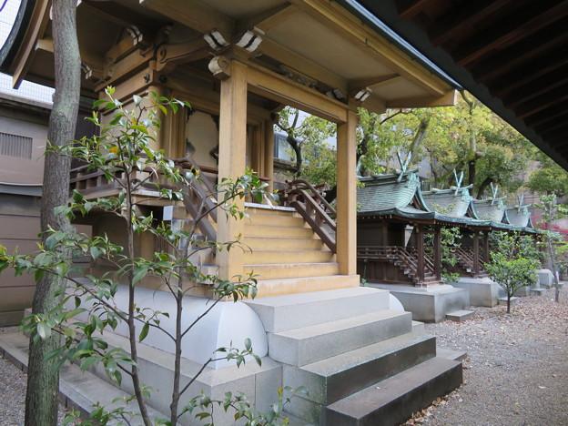 坐摩神社(いかすり。大阪市中央区)大江・繊維・大国主・天満宮・相殿