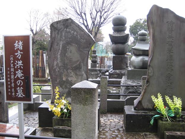 金峰山高林寺(文京区向丘)緒方洪庵夫人墓