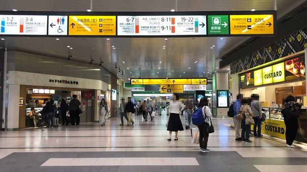 大宮駅中央改札(北)内(さいたま市大宮区)