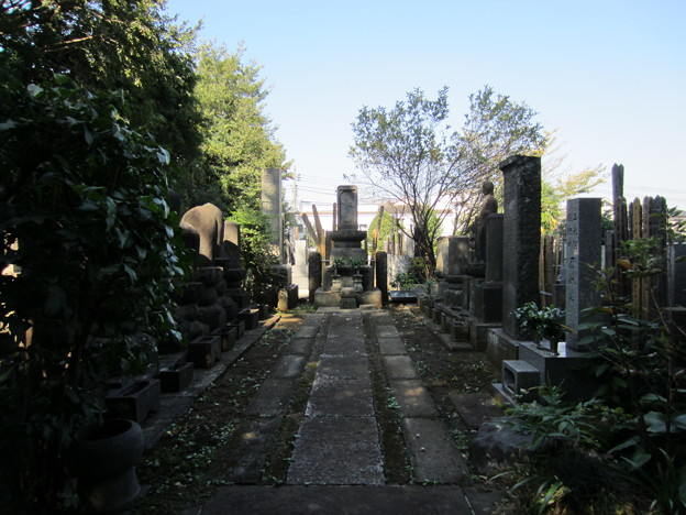 Photos: 竹園山最勝寺教学院 目青不動尊(世田谷区)歴代住職墓所?