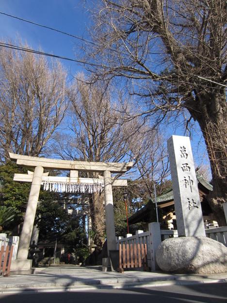 葛西神社(葛飾区)南鳥居