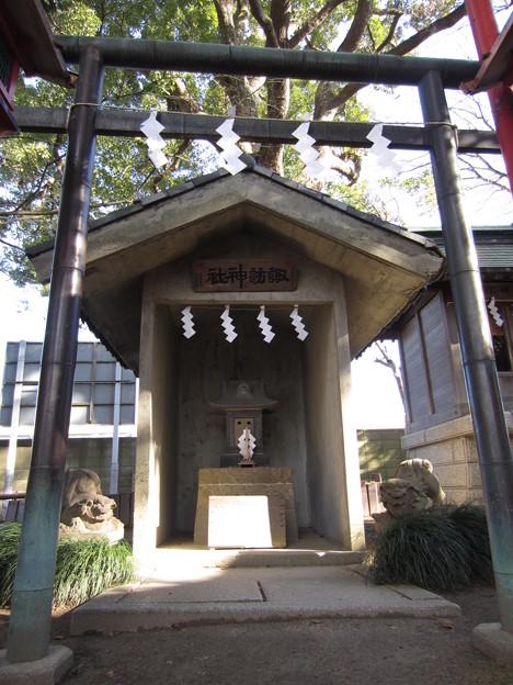 葛西神社(葛飾区)諏訪神社