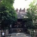 高円寺氷川神社(杉並区)拝殿