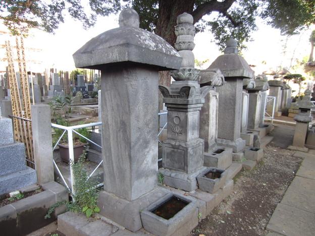 祥雲寺(広尾5丁目)曲直瀬玄朔墓