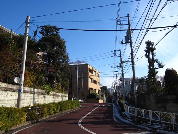 前方、戸沢上総介屋敷(広尾2丁目)