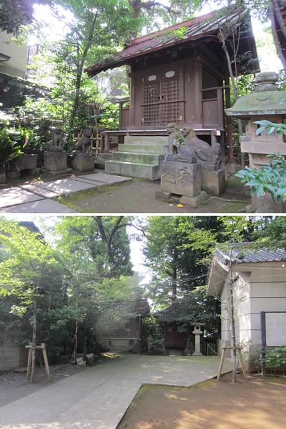 渋谷氷川神社 (渋谷区東)厳島神社