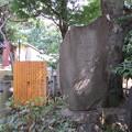 金王八幡宮/渋谷城(渋谷区渋谷)乃木希典書 明治三十八年戦役紀年碑