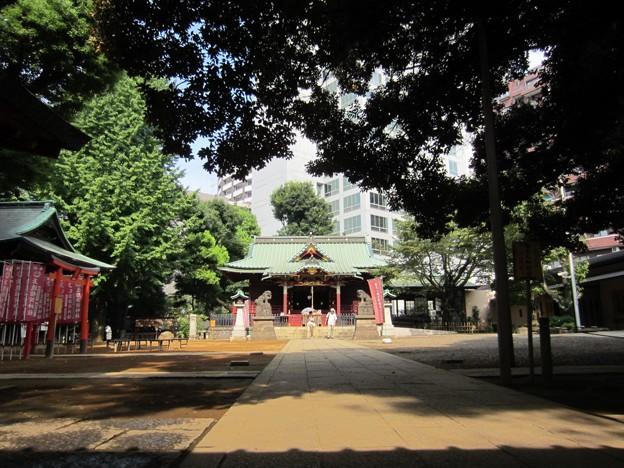 金王八幡宮境内/渋谷城本郭(渋谷区渋谷)