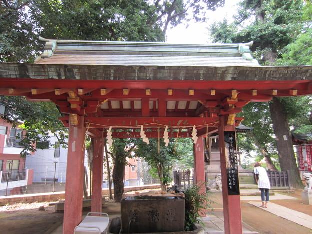 金王八幡宮/渋谷城(渋谷区渋谷)