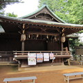 金王八幡宮神楽殿/渋谷城(渋谷区渋谷)
