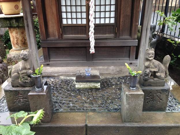 榎稲荷神社(千駄ヶ谷2丁目)