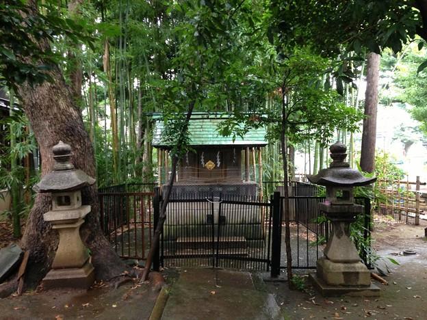 鳩森八幡神社(千駄ヶ谷八幡神社。渋谷区)神明社