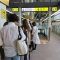 金沢駅新幹線ホーム(石川県)