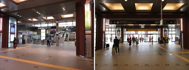 金沢駅新幹線改札(石川県)