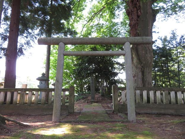 宝円寺(金沢市)前田治脩生母 園田夏子墓