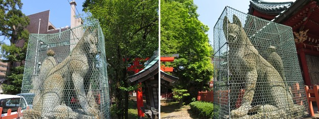 尾崎神社(金沢市)豊受稲荷社
