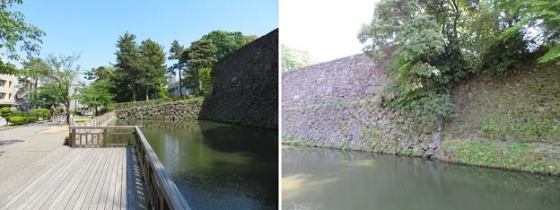 金沢城(石川県営 金沢城公園)大手堀