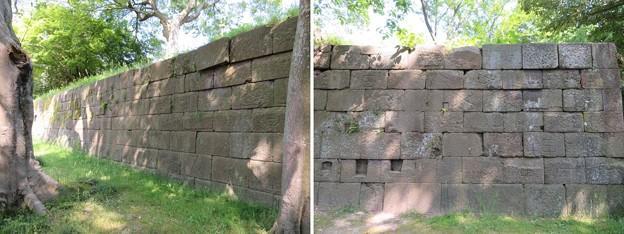 金沢城(石川県営 金沢城公園)二の丸(旧第六旅団司令部背後)
