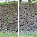 金沢城(石川県営 金沢城公園)東丸石垣