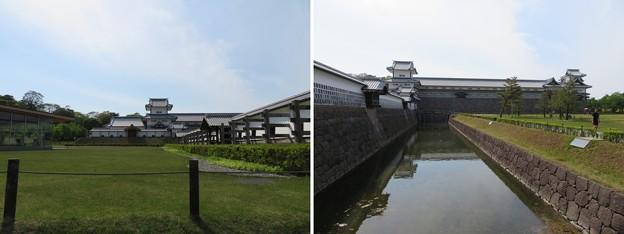 金沢城(石川県営 金沢城公園)鶴丸土塀
