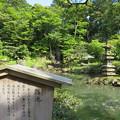 兼六園(金沢市)瓢池・海石塔