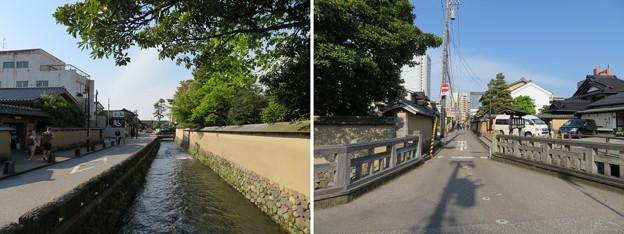 長町武家屋敷跡(金沢市)大野庄用水・野村家