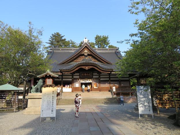 尾山神社(金沢市)拝殿