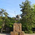 Photos: 尾山神社(金沢市)前田利家像