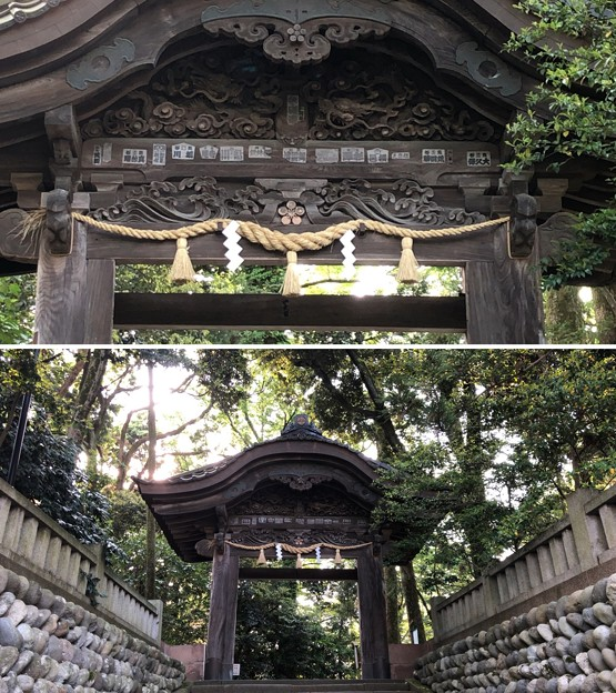 尾山神社(金沢市)東神門(金沢城二ノ丸唐門)