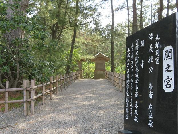 安宅の関跡・安宅城推定地(小松市)安宅住吉神社 関の宮