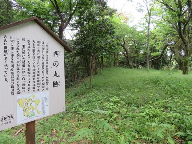 大聖寺城(石川県加賀市)西の丸
