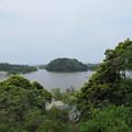 Photos: 吉崎御坊跡より(福井県あわら市)鹿島の森