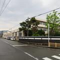 丸岡城(福井県坂井市)水堀跡