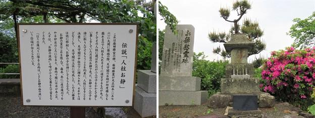 丸岡城(福井県坂井市)人柱 お静慰霊碑