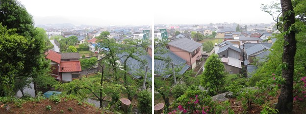 Photos: 丸岡城(福井県坂井市)本丸南・水堀跡