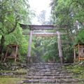 Photos: 平泉寺白山社舊址(勝山市)一の鳥居